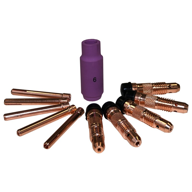 TIG Consumable Standard Set for 26 Series Torch