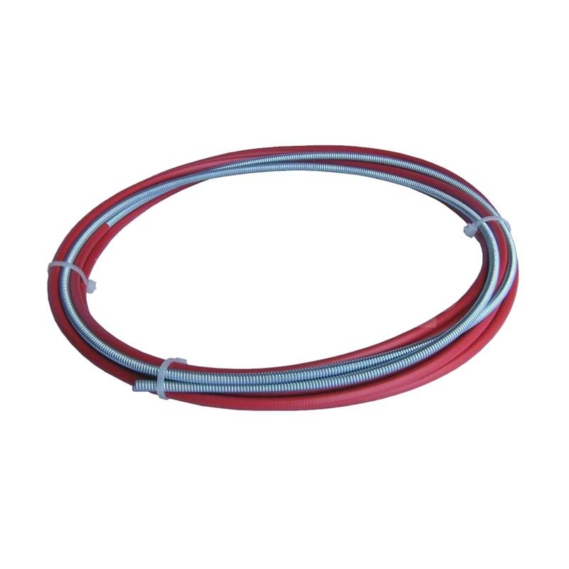 Steel liner, Tweco® style, brass nipple 15', 0.035-0.045