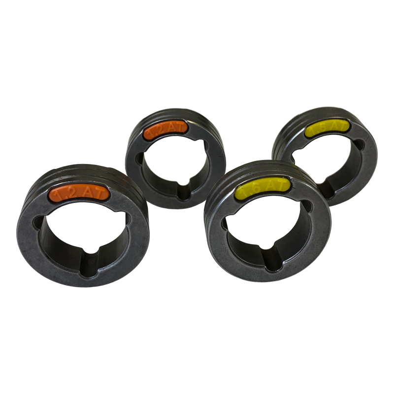 4 Drive Rolls Set For Three Phase Machines 0.045-0.06 Inch Or 1.2-1.6 mm U Groove ( Aluminium)